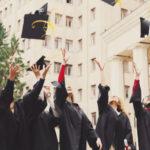 Foto di gruppo laureati